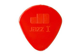 Dunlop 47R1N Red Nylon Jazz I Guitar Picks Bulk Bag 24 1.00mm round
