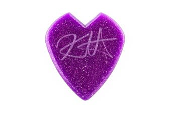 Dunlop Kirk Hammett Purple Sparkle Custom  Jazz III Guitar Picks  Bag 24 Picks