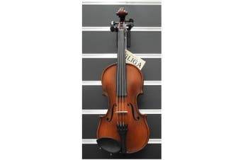 Gliga 3 Violin 1/4 Antique Varnish Outfit Setup Aubert Bridge Made in Europe