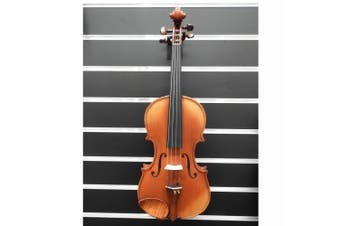 Gliga Violin 4/4 Genova 2 Outfit Antique Finish Pro Setup Ready to Play Made in Europe