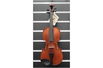 Gliga Violin  7/8 Gliga 2 Outfit Dark Antique with Bow & Case Made in Europe
