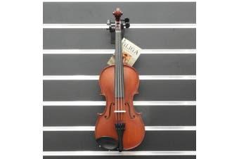 Gliga Violin 1/2 Gliga 1 Outfit Dark Antique Inc Bow & Case Made in Europe