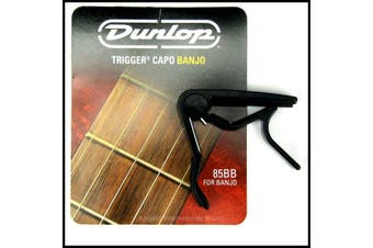 Jim Dunlop 85BB Trigger Capo for Banjo - Black made in USA