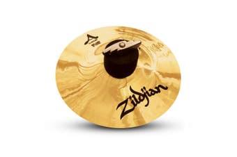 "Zildjian A Custom Splash Cymbal - 6"" Cast Bronze Splash Cymbal Brilliant Finish"