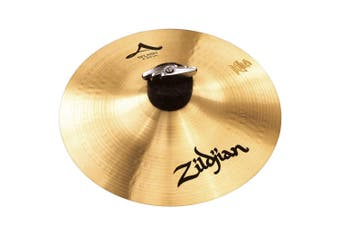 "Zildjian A Custom Splash Cymbal - 10"" Cast Bronze Splash Cymbal Brilliant Finish"