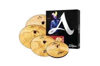 "Zildjian A Custom Box Set - 14"" Hats, 16"" Crash, 20"" Med Ride, 18"" Crash"