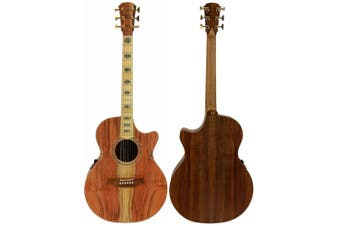 Cole Clark Angel 3EC redwood/Blackwood Acoustic/Electric with Hard Case