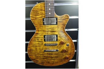Tom Anderson Guitarworks Bobcat HH Electric Guitar with Case - Deep Tobacco Fade