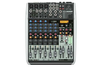Behringer Xenyx QX1204USB 12-Input USB Audio Mixer with Effects