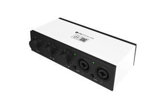 Bandlab Link Digital DUO USB Audio Interface - Portable Studio Recording Audio Interface