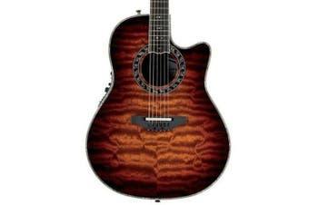Ovation Legend Plus C2079AXP-STB· Acoustic / electic Guitar Exotic Woods