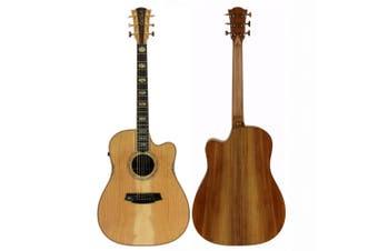 Cole Clark Fat Lady CCFL3EC-COLB Cedar of Lebanon Acoustic/Electric Guitar