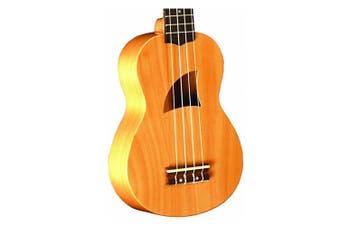 Eddy Finn EF-3S Soprano Ukulele Basswood  Aquila Strings