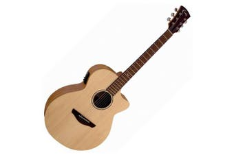 Faith  'Naked Series' FKV Venus Acoustic / Electric Guitar with Cutaway Inc Bag