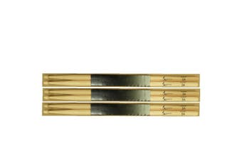 Vic Firth Nova 5A wood tip exclusive Strings For Less drumsticks - 3 pairs