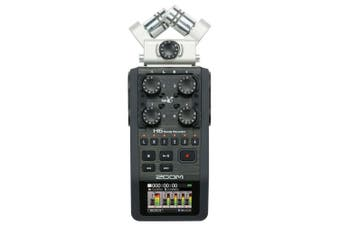 Zoom H6 Handy Recorder 24-bit/96kHz, 6-in/2-out Modular Field Recording System