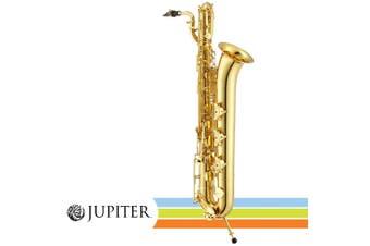 Jupiter JBS1000  Gold Lacquered Intermediate Baritone Saxophone 5 Year Warranty