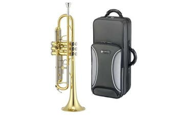 Jupiter JTR700Q Bb Trumpet with Case 5 Year Warranty Rose Brass Lead Pipe