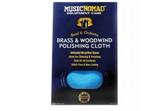 Music Nomad MN730 Brass & Woodwind Untreated Polishing Cloth