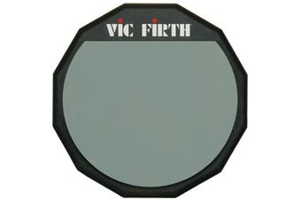 """Vic Firth Single-sided Practice Pad - 6""""  - PAD6 - with Soft Rubber Surface"""