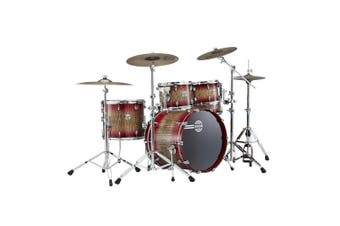 Dixon Blaze NTH American 'Maple 5pc Drum Kit Fusion Plus Red Forest c/w Hardware