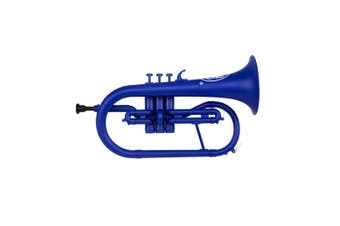 ZO Plastic Next generation Bb Flugelhorn Blue Blast Finish