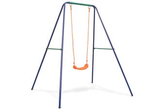 Kids Toddlers Outdoor Swing Play Set Playground Swings