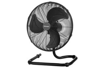 Dimplex 40cm High Velocity Oscillating Floor Fan - Matte Black finish