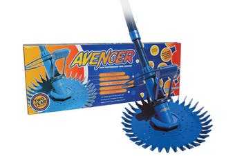 Avenger Pool Cleaner Automatic Pool Suction Cleaner 12m Hose - 2 Year Warranty