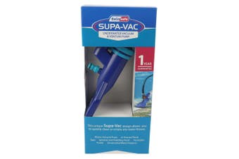 Supa-Vac Pool, Spa & Pond Venturi Vacuumm Cleaner kit With Telescopic Pole