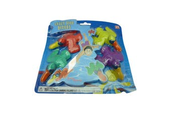Pool Dive Toys - Crazy Bird SwimSportz Pool Game - Fun Underwater Pool Toy