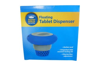 Pool & Spa Floating Tablet Chlorine & Bromine Dispenser 3 Inch - Pool & Spa Deluxe