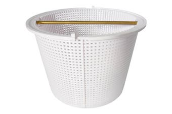 Quiptron Pool Skimmer Basket Complete With Brass Handle - Aussie Gold Brand