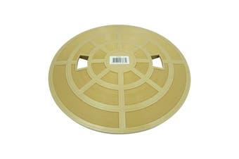 Pool Skimmer Deck Lid Cover - Quiptron Filtrite SK900 SK950 Beige Brown Colour