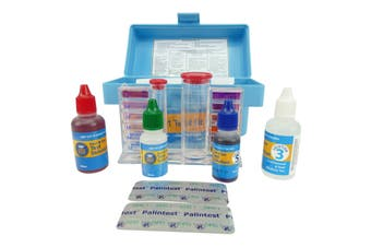 Aussie Gold 4 in1 Test Kit Professional Pool & Spa Water Test Kit Chlorine/Bromine PH TA