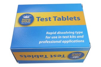 Chlorine Test Tablets For Pool & Spa Water DPD 1 (250) Chlorine/Bromine Test Tablets - 25 Pack