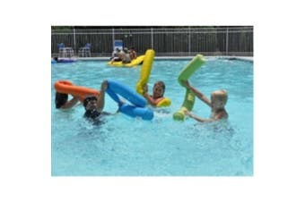 "Pool Noodle Bean Bag Shell Giant 7"" Deluxe Blue Colour - Swimming Float Deluxe Pool Aid"
