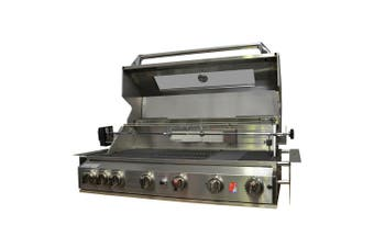 Smart 6 Burner Built-In Stainless Steel BBQ With Motorised Rotisserie (PRE-ORDER)