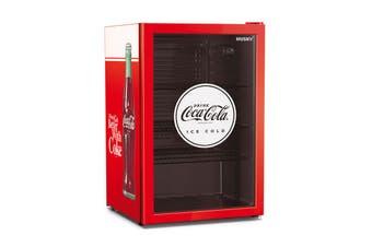 Husky 110L Coca-Cola Glass Door Bar Fridge