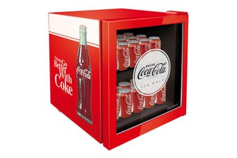 Husky 46L Coca-Cola Glass Door Bar Fridge
