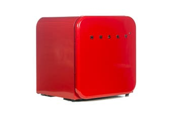 Husky 46L Retro Style Compact Bar Fridge in Red