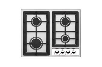 Tisira 60cm 4 Burner Stainless Steel Gas Cooktop Hob (TG60)