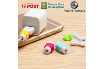 Cable Protector Saver Cover For Apple Samsung iPhone iPad USB Cord Protectors