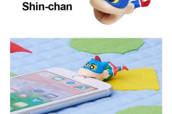 Cable Bite Crayon Shin-Chan for Lightning Cable Limited Edition [Action Kamen Shin-Chan]