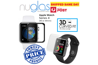 NUGLAS  Apple Watch 40mm 3D Full Cover Curve Tempered Glass Screen Protector