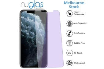 NUGLAS Tempered Glass Screen Protector Anti Blue Light for Iphone X