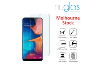 NUGLAS Premium Tempered Glass For Samsung Galaxy A20