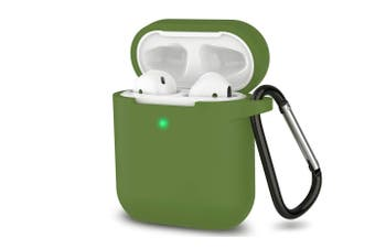 Airpods 1&2 Storage Bag Silicone Protective Box [Green]