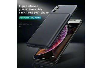 BASEUS  3300mAh External Battery Charge Case Power Cover for iPhone X [Black]