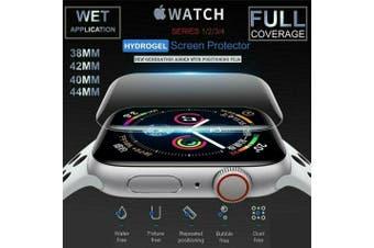 Apple Watch Series 1/2/3/4/5 Hydrogel Aqua Flex Full Screen Protector [44mm]